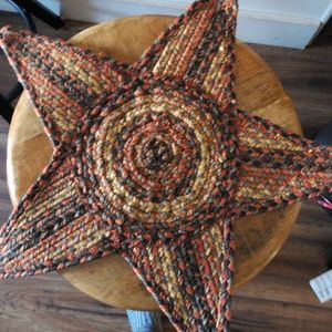 Cool Amish Star Rug or Place setting